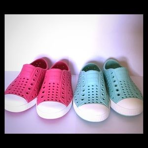 Size 6 Toddler Girl Native Shoes